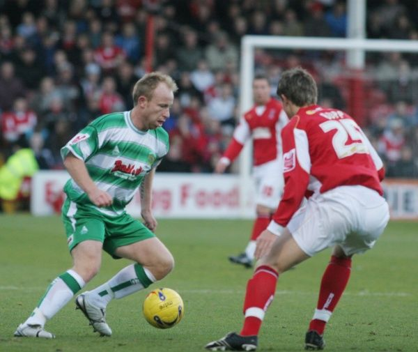 Paul Terry in action against Rotherham United. 2nd December 2006