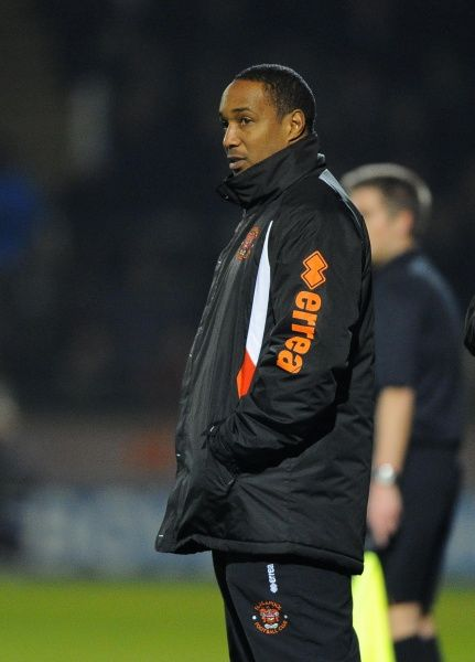 Blackpool Manager, Paul Ince - Photo mandatory by-line: Joe Meredith/JMP - Tel: Mobile: 03/12/2013 - SPORT - Football - Yeovil - Huish Park - Yeovil Town v Blackpool - Sky Bet Championship