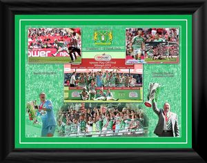 2013 Play off Winner Framed Montage