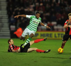 AFC Bournemouth v Yeovil Town 261213