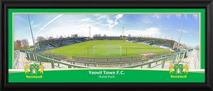 Huish Park Framed Panoramic Photograph