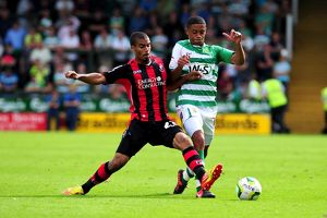 Yeovil Town v AFC Bournemouth (Selection of 43 Items)