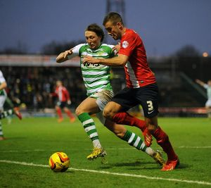 Yeovil Town v Blackburn Rovers 211213