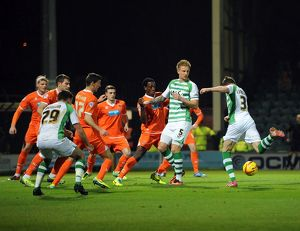 <b>Yeovil Town v Latvia</b><br>Selection of 50 items