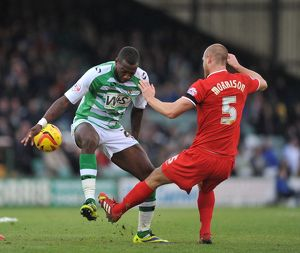 Yeovil Town v Charlton Athletic 071213