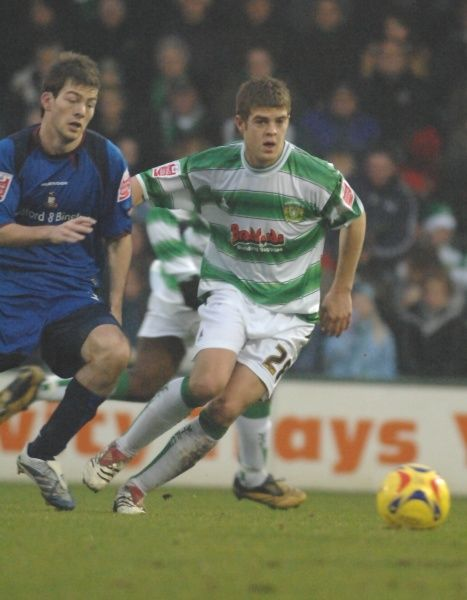 Martin Cranie clears his lines against Bradford City in Coca-Cola League 1 action. 23rd December 2006