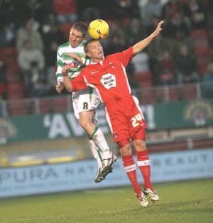 Anthony Barry v Leyton Orient 18/11/06