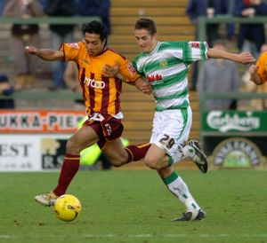 Chris Cohen v Bradford City 21/01/06