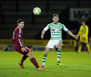 Yeovil Town v Latvia 181113